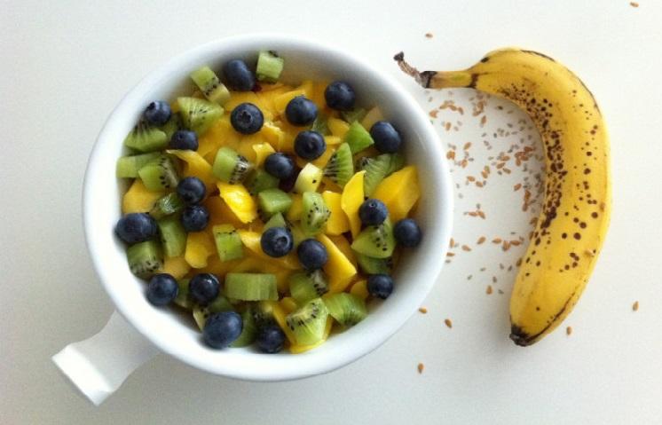 miam aux fruits petit déjeuner