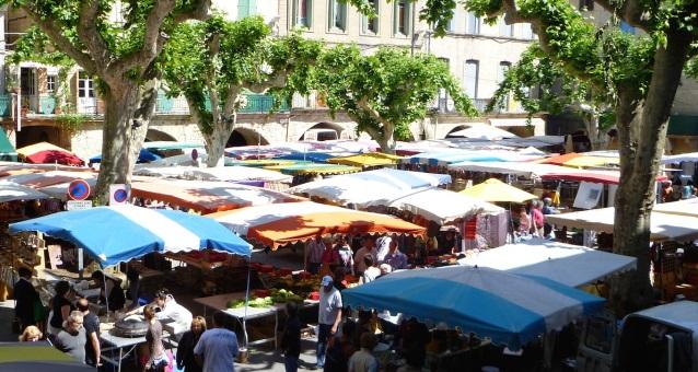 marché local bio