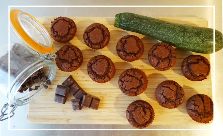 cakes chocolat courgette