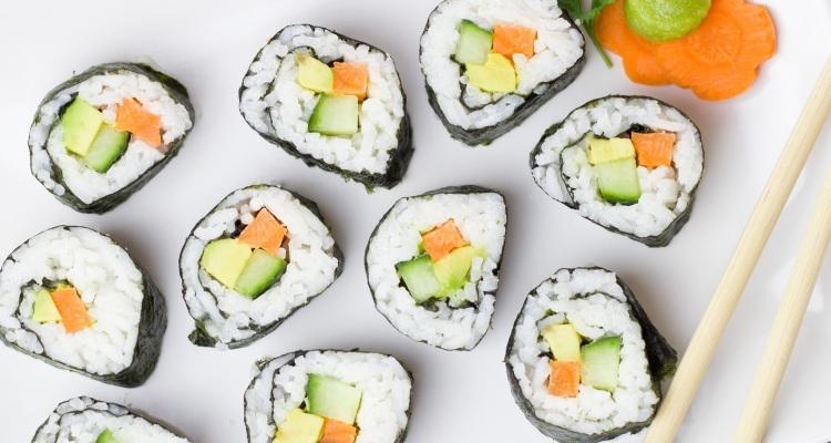 sushis végétariens recette
